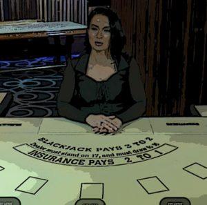 Lounge Blackjack