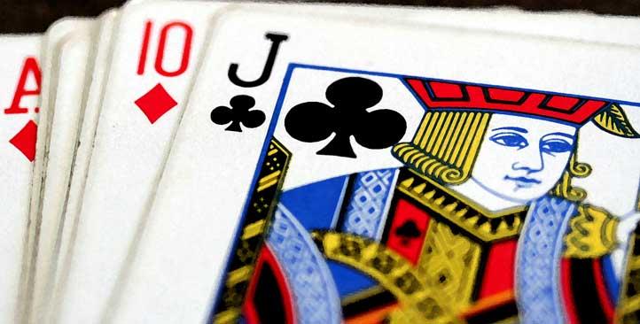 Online Blackjack begrippen