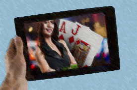 mobiel Live Casino Blackjack
