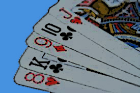 Speel blackjack spel koning