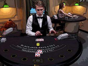 In een Live Casino Blackjack online spelen