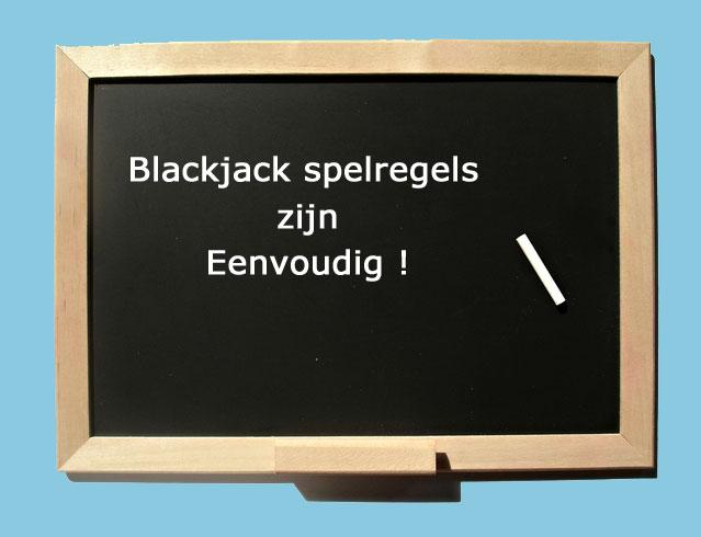 Blackjack spelregels zijn eenvoudig
